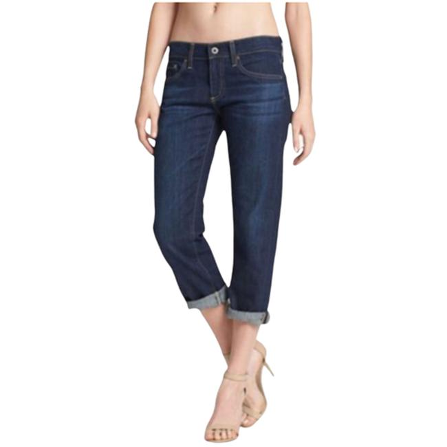 Item - Blue Tomboy' Relaxed Straight Crop Skinny Jeans Size 29 (6, M)