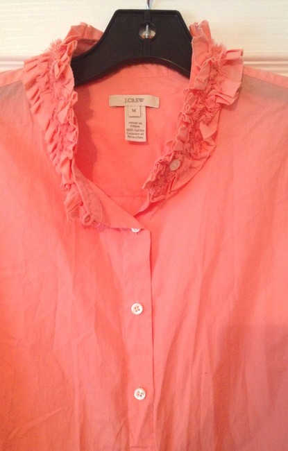 J.Crew Button Down Shirt Peach