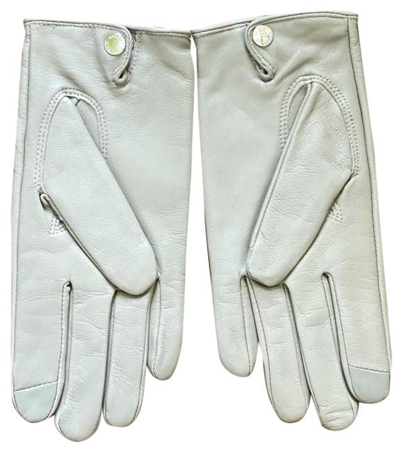 Item - Gray Leather Gloves