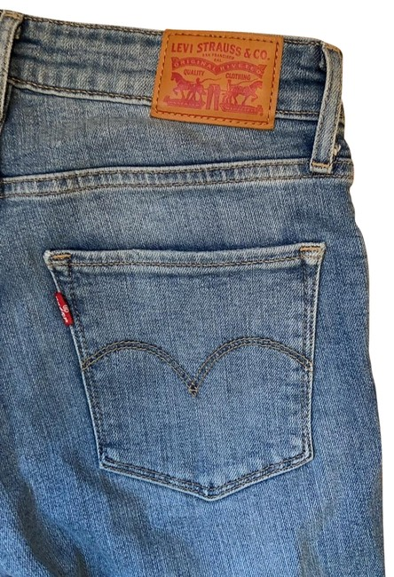 Item - Blue Distressed 721 High Rise Skinny Jeans Size 2 (XS, 26)