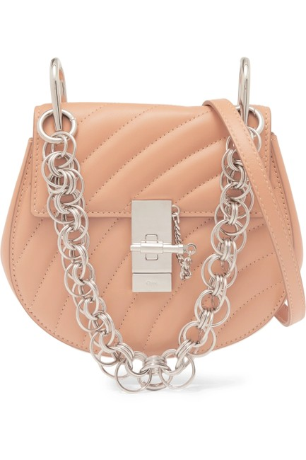Chloé Drew Bijou Quilted Leather Shoulder Bag Chloé Drew Bijou Quilted Leather Shoulder Bag Image 1