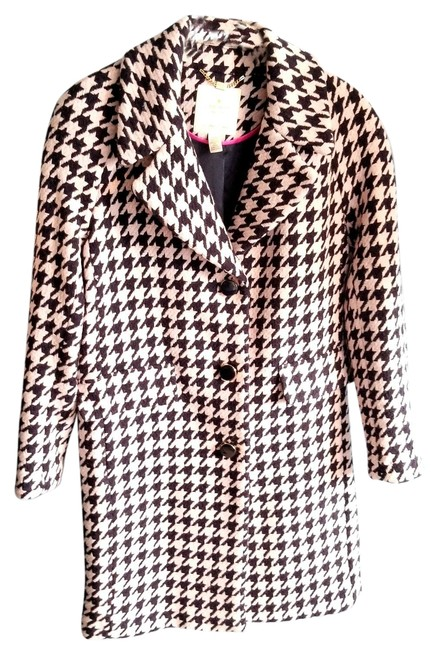 Item - Multicolor Add A Layer Of Meaning Houndstooth Coat Size 8 (M)