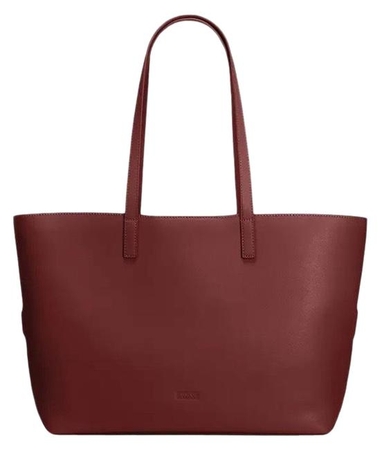 Item - Latitude In Ruby Leather Tote