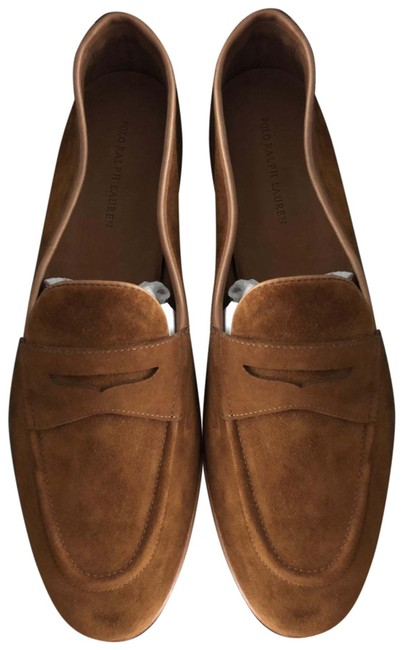 Item - Brown Ashtyn Suede Penny Loafer Flats Size US 8 Regular (M, B)