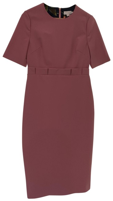 Item - Pink Maggidd Mid-length Work/Office Dress Size 10 (M)