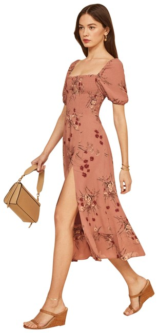 """Item - """"queen"""" (Mauve / Dark Blush Pink) Meadow Mid-length Cocktail Dress Size 0 (XS)"""