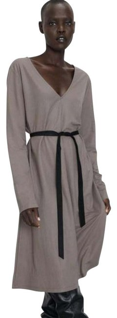 Item - Gray 5580 648 706 Mid-length Casual Maxi Dress Size 4 (S)