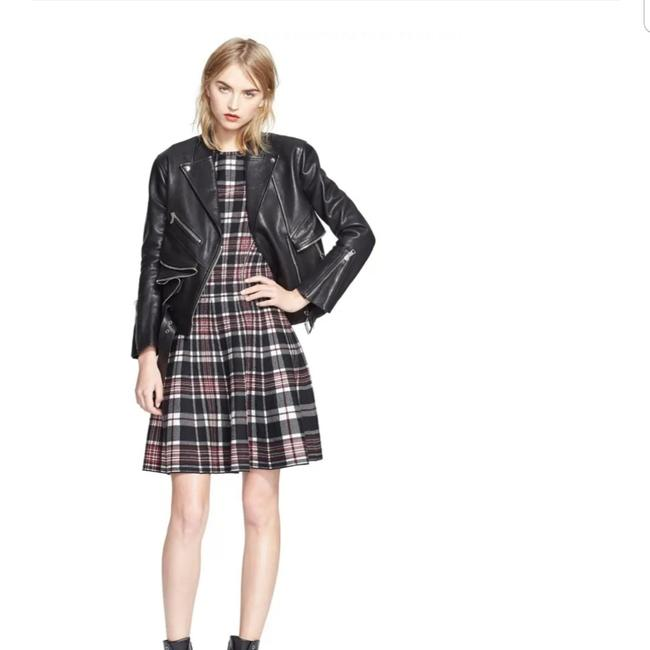 Alexander McQueen Multicolor Plaid Wool Mid-length Short Casual Dress Size 4 (S) Alexander McQueen Multicolor Plaid Wool Mid-length Short Casual Dress Size 4 (S) Image 1