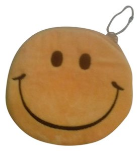 Other New! Classic Yellow Smiley Face Zip Up Velour Coin Purse