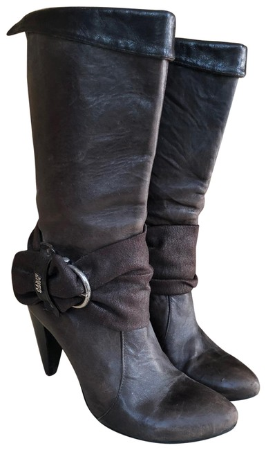 Item - Brown Heeled Boots/Booties Size US 8 Regular (M, B)