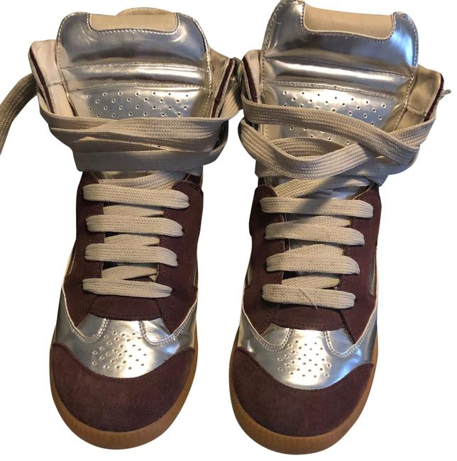 Item - Wine and Sliver 8053903061731 Sneakers Size EU 40 (Approx. US 10) Narrow (Aa, N)