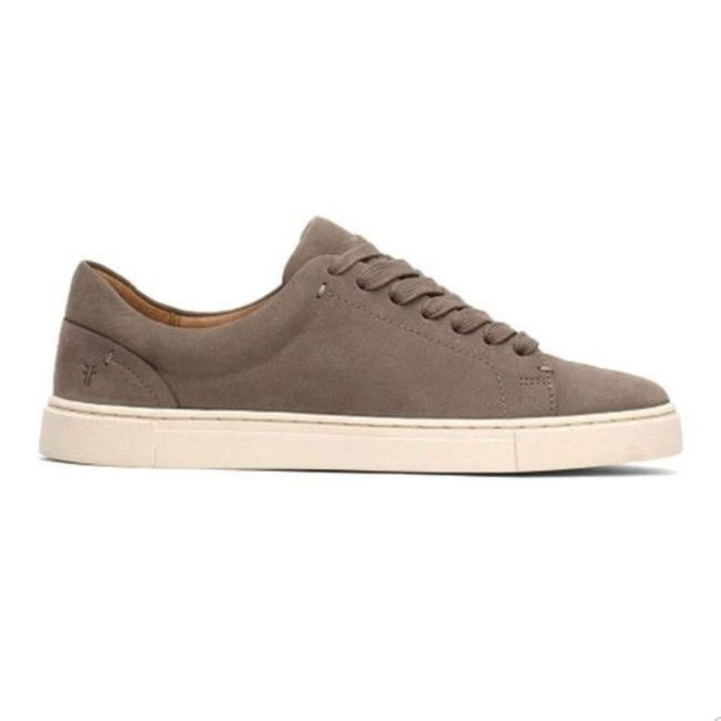 Item - Gray Nubuck Leather Ivy Low Lace Sneaker Flats Size US 9.5 Regular (M, B)
