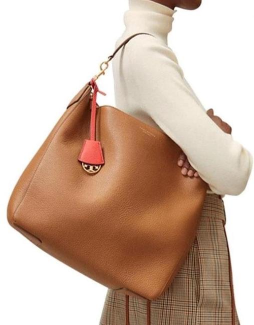 Item - New Slouchy Tote Purse Camel Brown Leather Hobo Bag