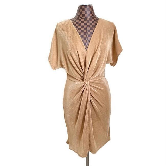 Item - Brown Gia Ribbed Dolman Short Casual Dress Size 8 (M)