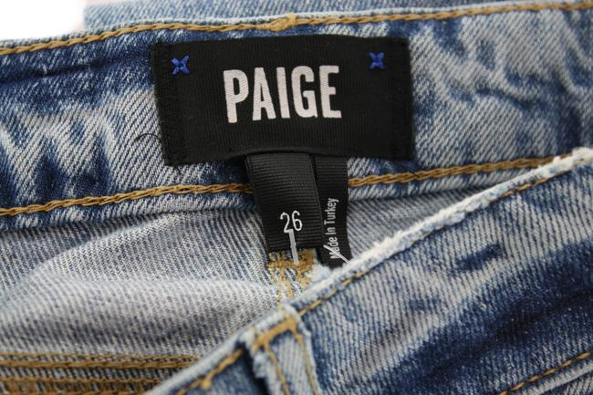 Paige Blue Distressed Noella Jovie Destructed New with Tags Straight Leg Jeans Size 26 (2, XS) Paige Blue Distressed Noella Jovie Destructed New with Tags Straight Leg Jeans Size 26 (2, XS) Image 6