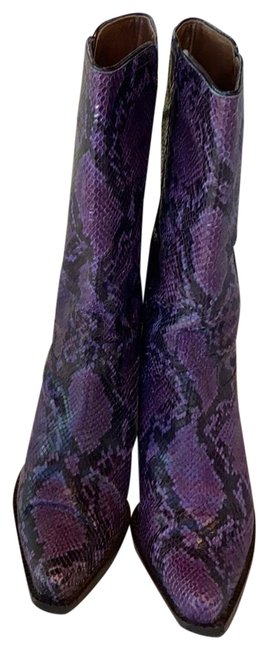 Item - Purple Casia Western Couture Collection Boots/Booties Size US 8.5 Regular (M, B)