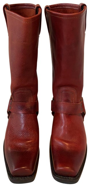 Item - Ombré Red and Burgundy 971055 700 Boots/Booties Size US 7.5 Regular (M, B)