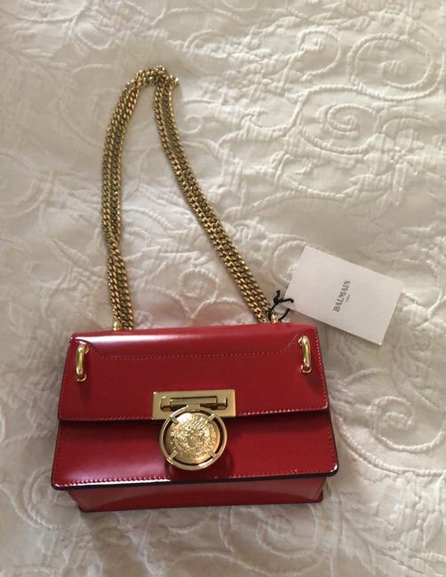 Item - Box Baby Red Leather Cross Body Bag