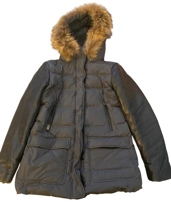 Mackage Grey and Black Winter Coat Size 8 (M) Mackage Grey and Black Winter Coat Size 8 (M) Image 1