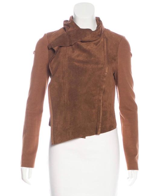 Item - Brown Ana Faux Suede Jacket Size 8 (M)
