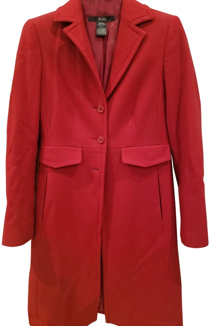 Item - Dark Red Coat Size 4 (S)