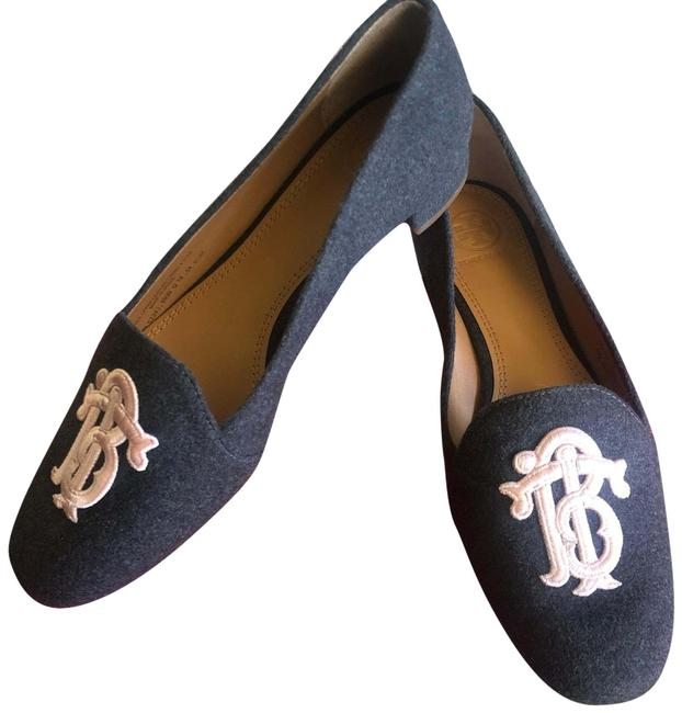 Item - Grey Antonia Monogram Loafer *nwb Flats Size US 6.5 Regular (M, B)