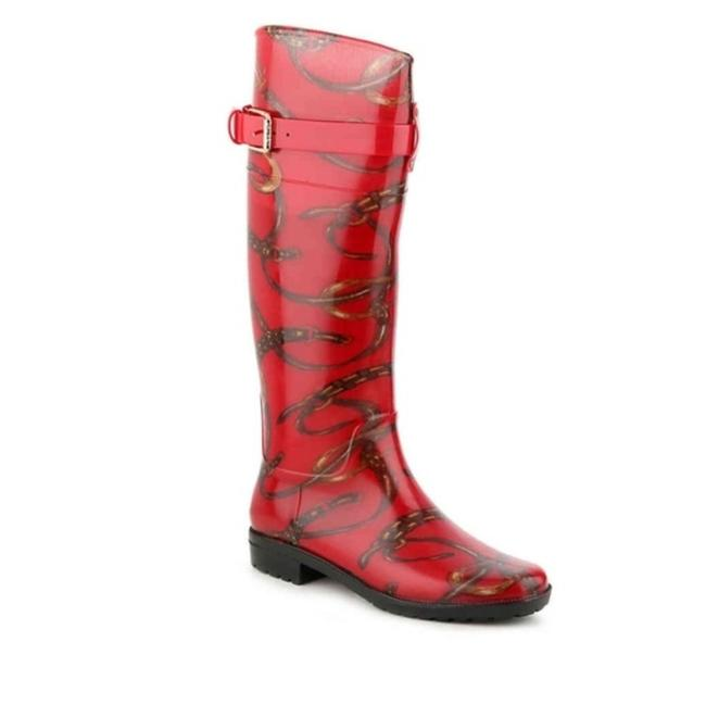 Item - Red Rossilyn Boots/Booties Size US 7 Regular (M, B)