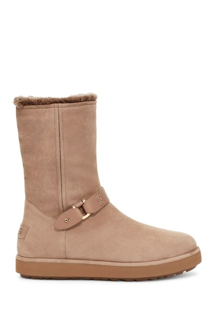 Item - Tan Berge Classic Suede Waterproof Shearling Lined Boots/Booties Size US 10 Regular (M, B)