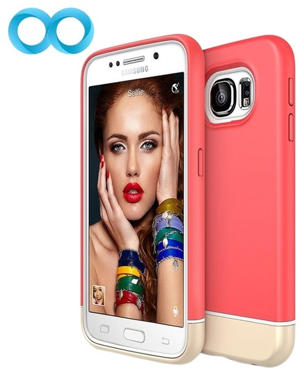 Other Samsung Galaxy S6 Italian Rose / Champagne Gold Case