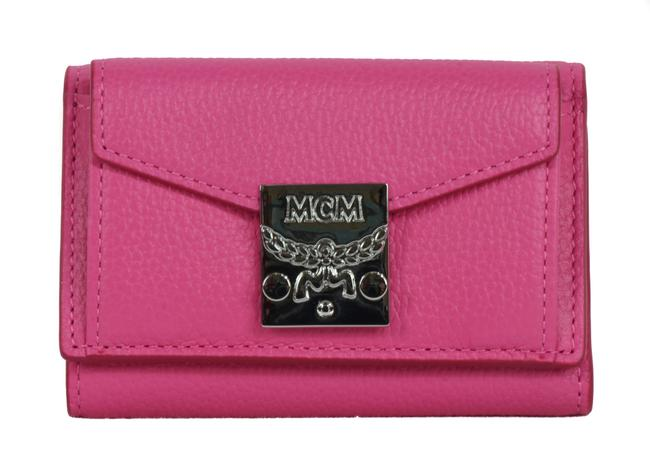 Item - Pink New Three Fold Leather Card Case Sugar Wallet