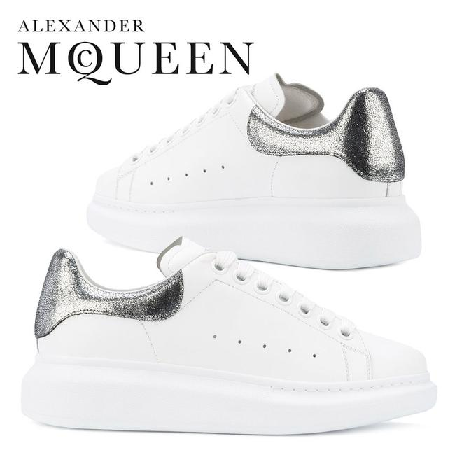 Item - White Women's 470630whnbs9071 Leather Sneakers Size EU 35.5 (Approx. US 5.5) Regular (M, B)