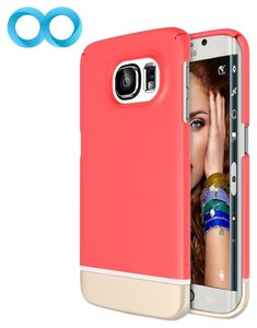 Maxboost Maxboost Samsung Galaxy S6 Edge Italian Rose / Champagne Gold Case