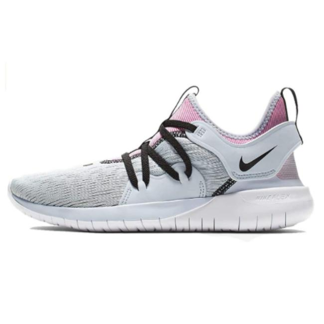 Nike Gray Pink and Black Flex Contact 3 Grey-pink-black Women Running Aq7488400 Sneakers Size US 7.5 Regular (M, B) Nike Gray Pink and Black Flex Contact 3 Grey-pink-black Women Running Aq7488400 Sneakers Size US 7.5 Regular (M, B) Image 1