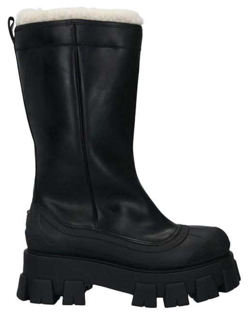 Item - Black Monolith Shearling Boots/Booties Size EU 39.5 (Approx. US 9.5) Regular (M, B)