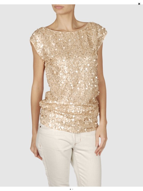 Item - Gold Short Night Out Dress Size 0 (XS)