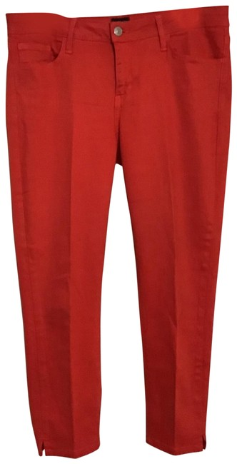 Just Black Red Jeans Pants Size 8 (M, 29, 30) Just Black Red Jeans Pants Size 8 (M, 29, 30) Image 1