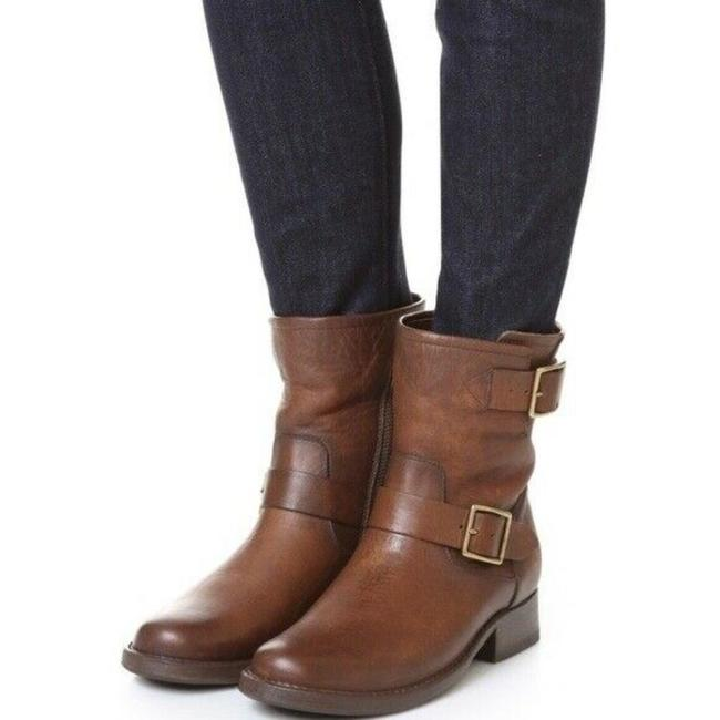 Frye Brown Vicky Engineer Boots/Booties Size US 7 Regular (M, B) Frye Brown Vicky Engineer Boots/Booties Size US 7 Regular (M, B) Image 1