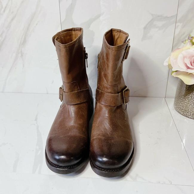 Frye Brown Vicky Engineer Boots/Booties Size US 7 Regular (M, B) Frye Brown Vicky Engineer Boots/Booties Size US 7 Regular (M, B) Image 4