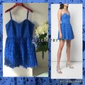 Alice + Olivia Royal Blue Nelly Button Down Short Cocktail Dress Size 10 (M) Alice + Olivia Royal Blue Nelly Button Down Short Cocktail Dress Size 10 (M) Image 11