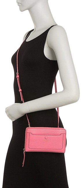 Item - Empire City Pink with Tag Leather Cross Body Bag