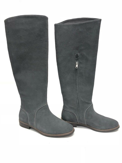 Item - Gray Daley Tall Suede Boots/Booties Size US 8 Regular (M, B)