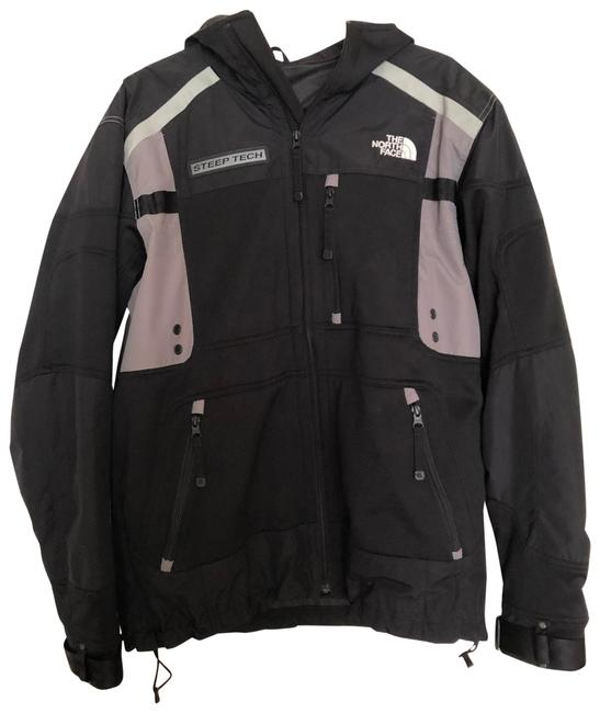 Item - Black and Gray Men's Jacket Size 8 (M)