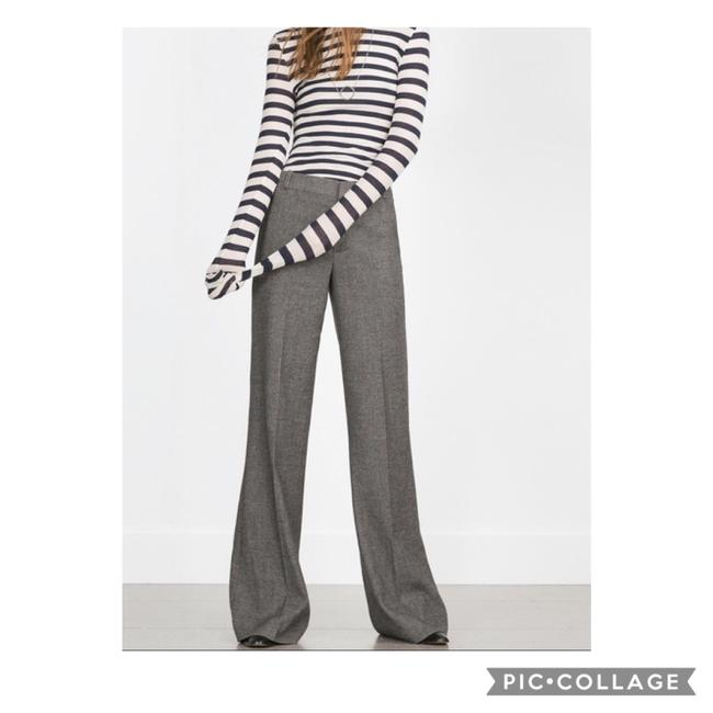 Item - Gray Herringbone Wool Trousers Pants Size 14 (L, 34)