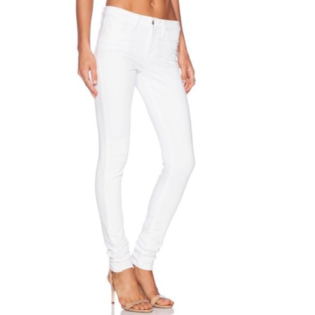 JOE'S Jeans White Light Wash Play Dirty Stay Spotless Skinny Jeans Size 24 (0, XS) JOE'S Jeans White Light Wash Play Dirty Stay Spotless Skinny Jeans Size 24 (0, XS) Image 1