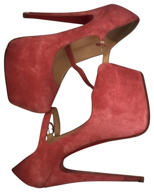 Item - Rose Lady Daf 160 Veau Velours Platforms Size EU 36.5 (Approx. US 6.5) Regular (M, B)