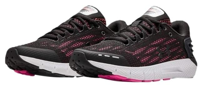 Item - Black and Neon Pink Women's Charged Rogue Running Sneakers Size US 9 Regular (M, B)