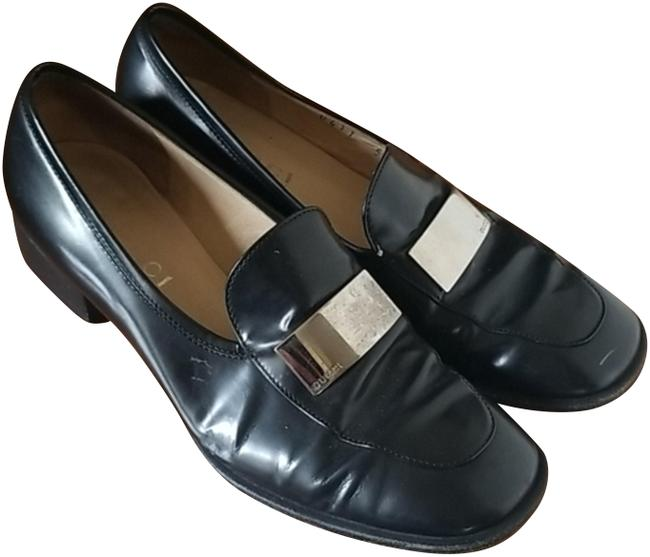 Item - Black Vintage Classic Loafers Flats Size US 5.5 Narrow (Aa, N)