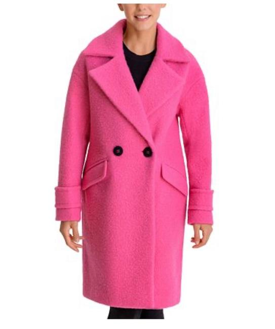Item - Pink Walker Bcbgeneration Double-breasted Teddy Hot S New Coat Size 6 (S)