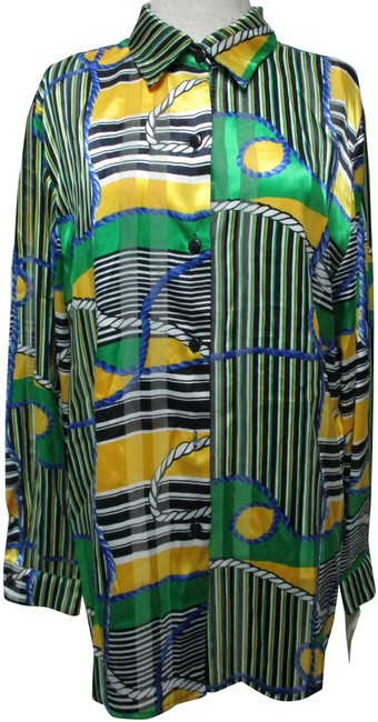 Item - Multi-color Haberdashery Equestrian Vtg Layered Blouse New Tunic Size 16 (XL, Plus 0x)
