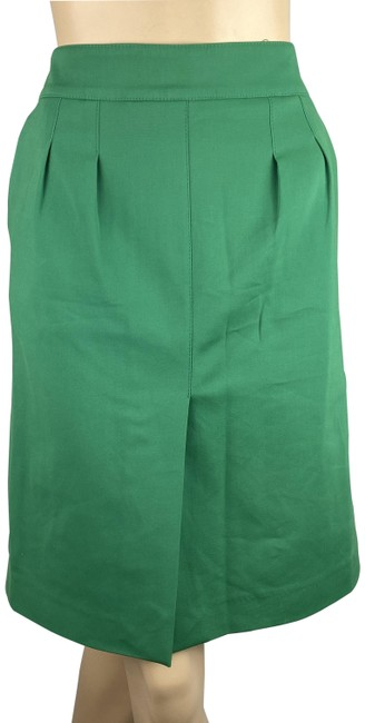 Item - Green Slit Front Pencil Skirt Size 8 (M, 29, 30)